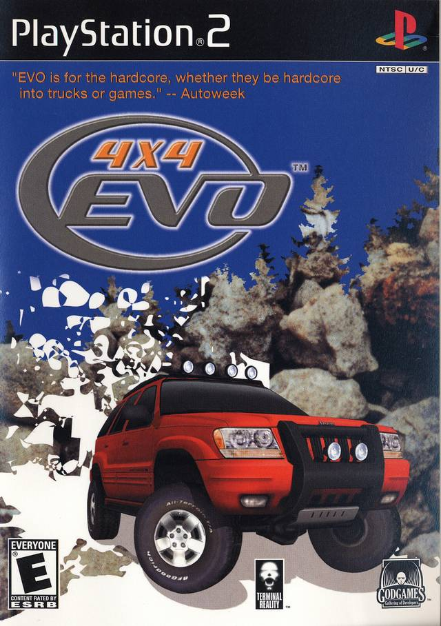 Front boxart of the game 4X4 Evolution (United States) on Sony Playstation 2