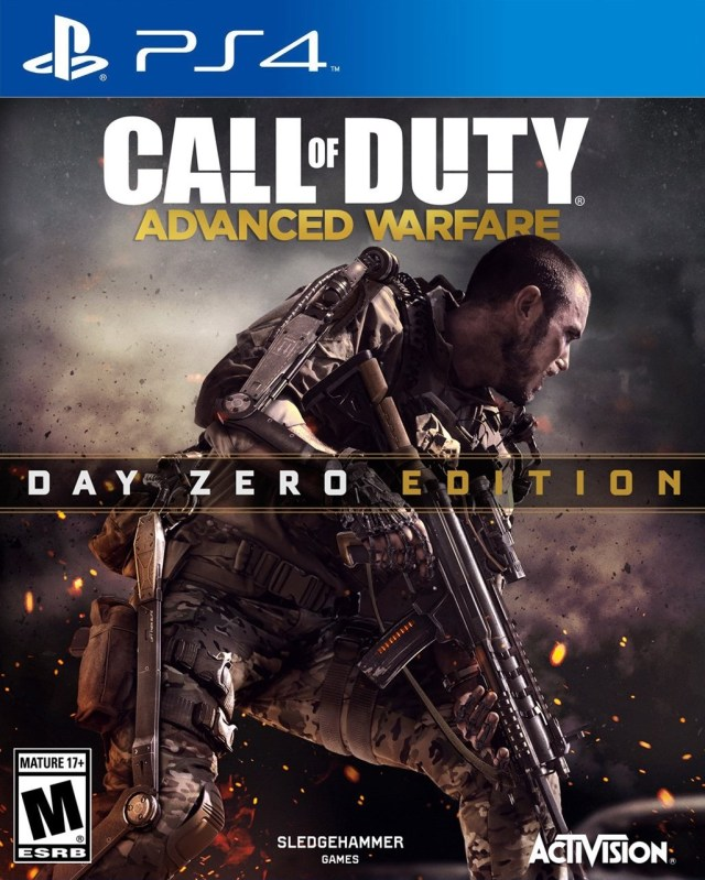 Front boxart of the game Call of Duty - Advanced Warfare (United States) on Sony Playstation 4