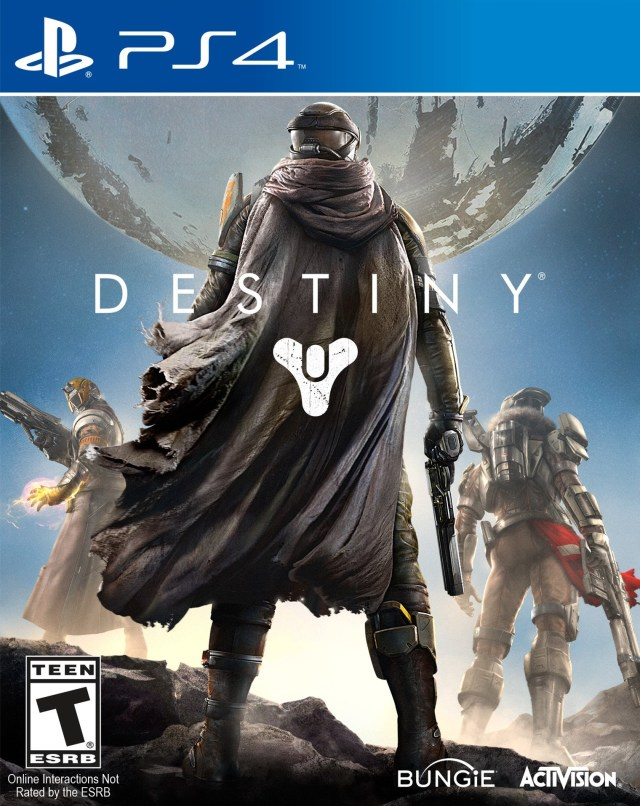 Front boxart of the game Destiny (United States) on Sony Playstation 4