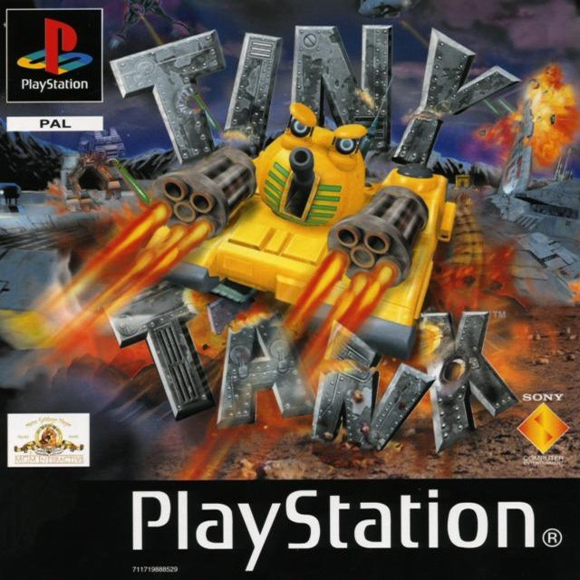 Front boxart of the game Tiny Tank (France) on Sony Playstation