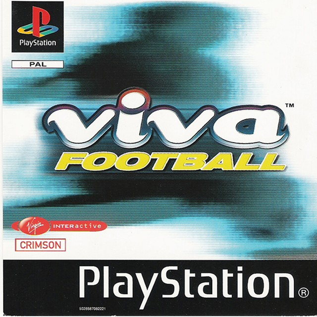 Front boxart of the game Viva Soccer (Europe) on Sony Playstation