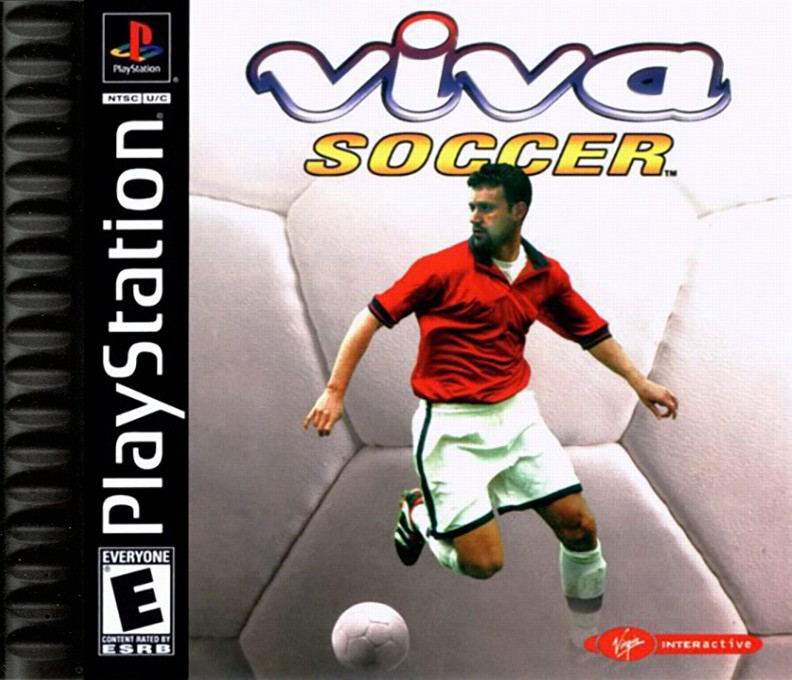 Front boxart of the game Viva Soccer (United States) on Sony Playstation