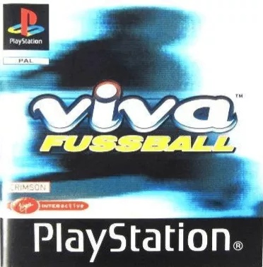 Front boxart of the game Viva Fussball (Germany) on Sony Playstation