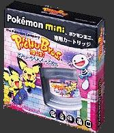 Front boxart of the game Pichu Bros. Mini on Nintendo Pokemon Mini