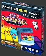 Front boxart of the game Pokemon Shock Tetris on Nintendo Pokemon Mini