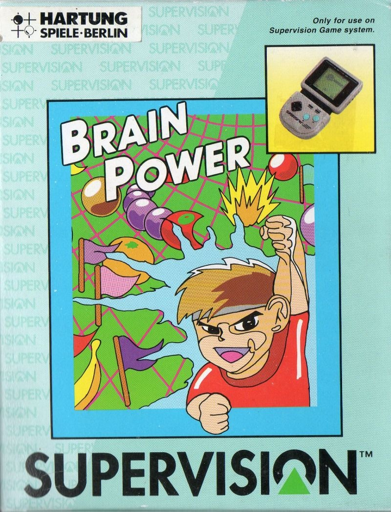 Front boxart of the game Brain Power on Watara Supervision