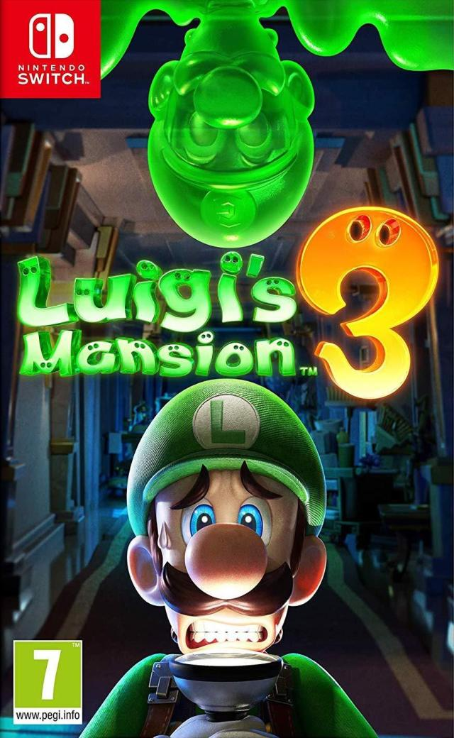 Front boxart of the game Luigi's Mansion 3 (Europe) on Switch