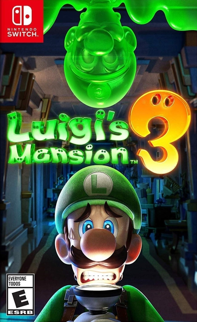 Front boxart of the game Luigi's Mansion 3 (United States) on Switch
