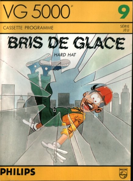 Front boxart of the game Bris de Glace on Philips VG5000