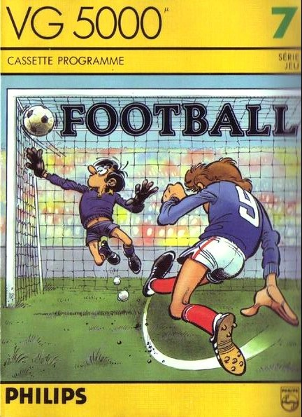 Front boxart of the game Football on Philips VG5000