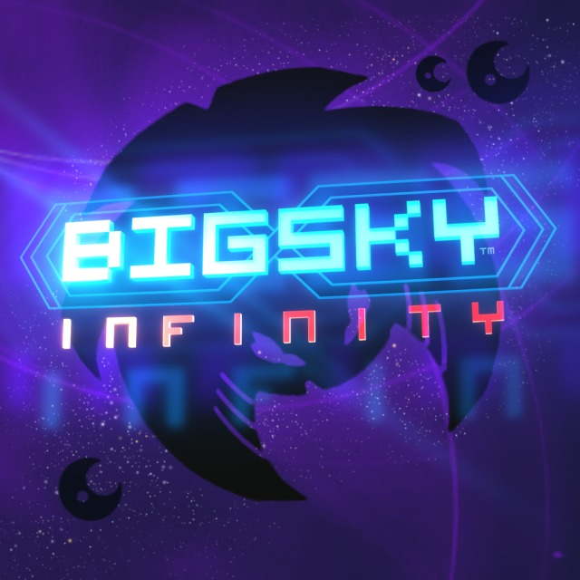 Front boxart of the game Big Sky - Infinity (Europe) on Sony PS Vita