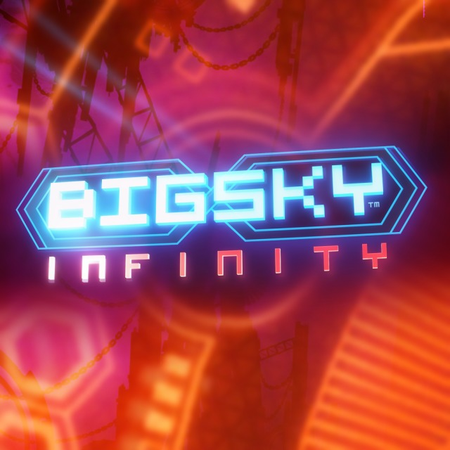 Front boxart of the game Big Sky - Infinity (United States) on Sony PS Vita