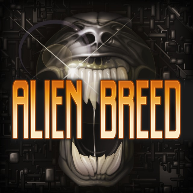 Front boxart of the game Alien Breed (Europe) on Sony PS Vita