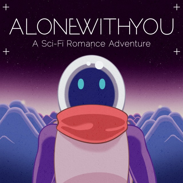 Front boxart of the game Alone With You (United States) on Sony PS Vita