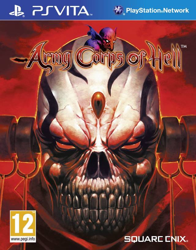 Front boxart of the game Army Corps of Hell (Europe) on Sony PS Vita