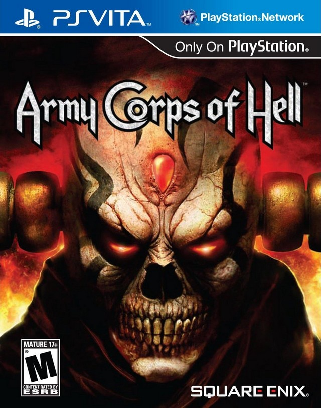 Front boxart of the game Army Corps of Hell (United States) on Sony PS Vita