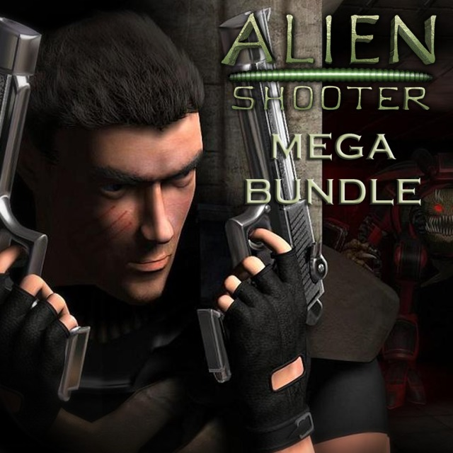 Front boxart of the game Alien Shooter (Australia) on Sony PS Vita