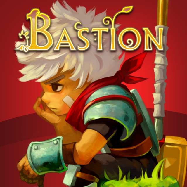 Front boxart of the game Bastion (United States) on Sony PS Vita