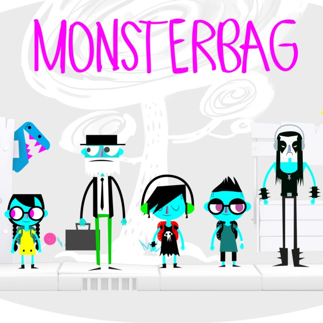 Front boxart of the game MonsterBag (Europe) on Sony PS Vita
