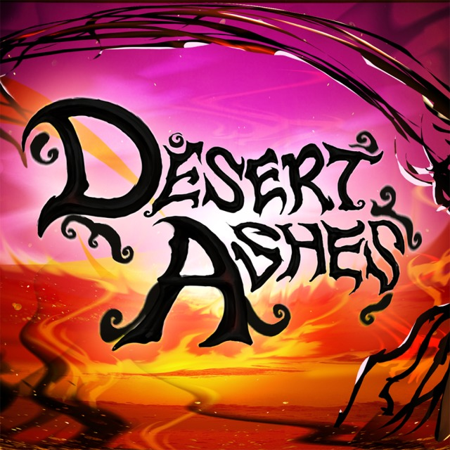 Front boxart of the game Desert Ashes (United States) on Sony PS Vita