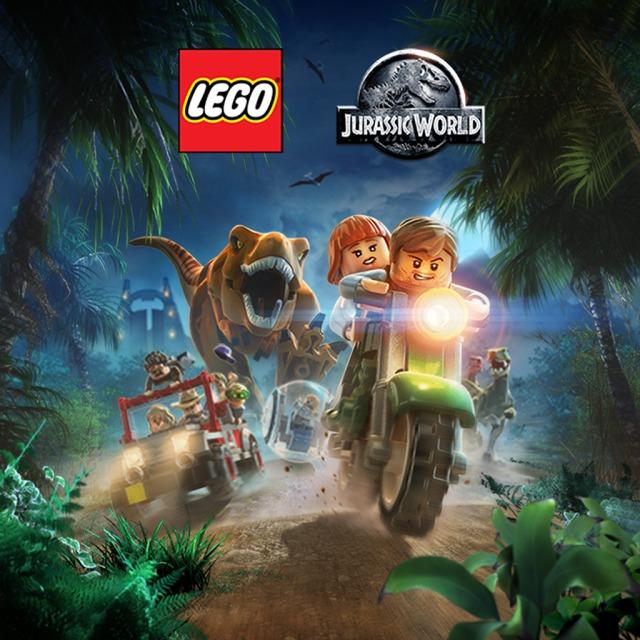 Front boxart of the game LEGO Jurassic World (Australia) on Sony PS Vita