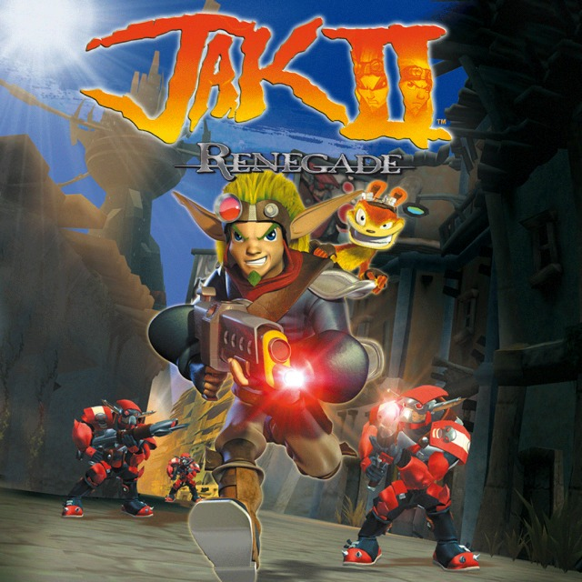 Front boxart of the game Jak II HD (Europe) on Sony PS Vita