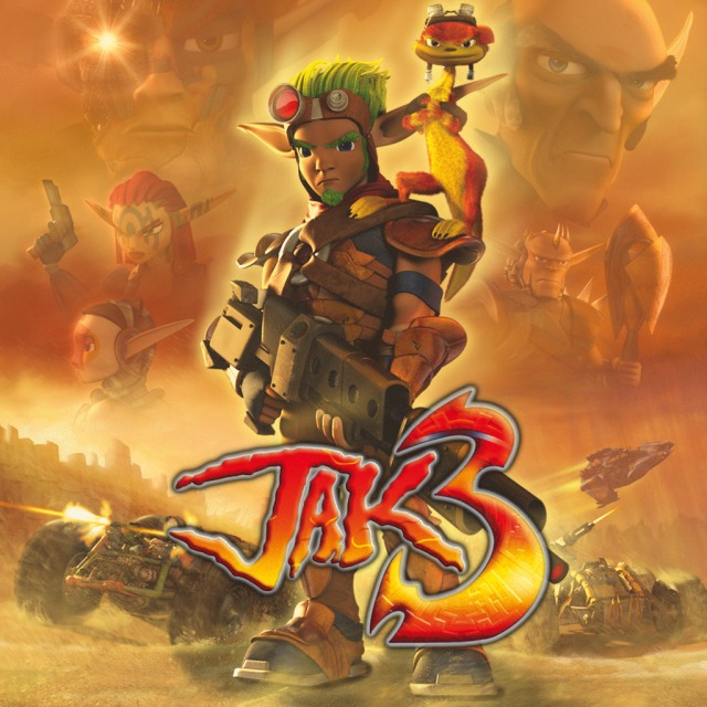 Front boxart of the game Jak 3 HD (Australia) on Sony PS Vita