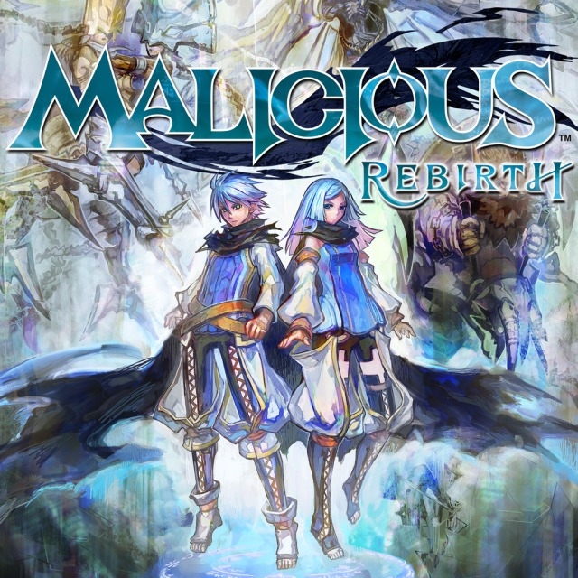 Front boxart of the game Malicious Rebirth (United States) on Sony PS Vita