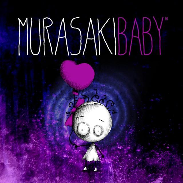 Front boxart of the game Murasaki Baby (Europe) on Sony PS Vita