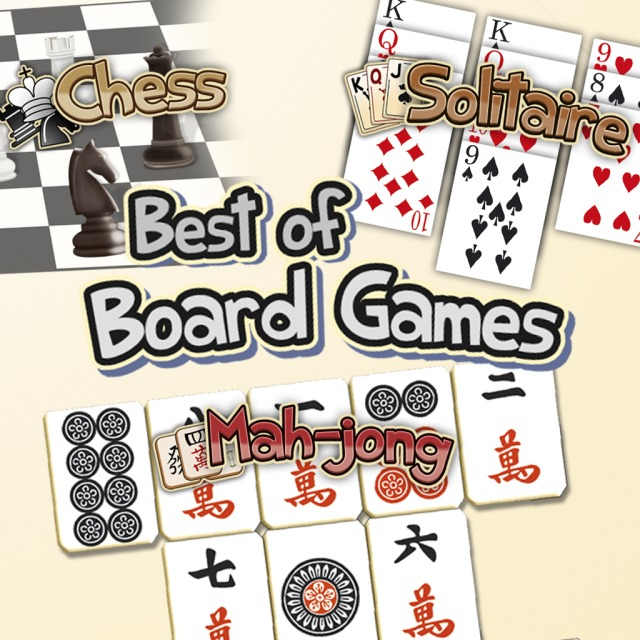 Front boxart of the game Best of Board Games (United States) on Sony PS Vita
