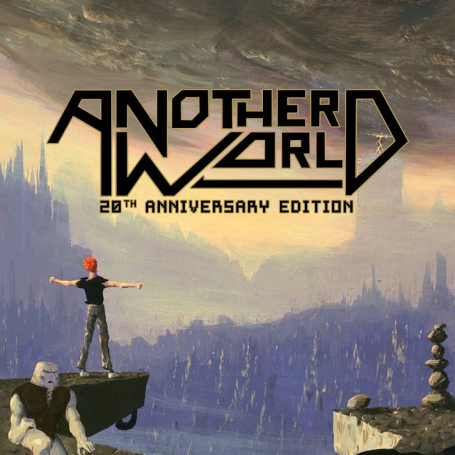 Front boxart of the game Another World - 20th Anniversary Edition (United States) on Sony PS Vita