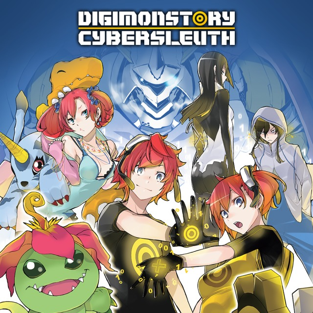 Front boxart of the game Digimon Story Cyber Sleuth (United States) on Sony PS Vita