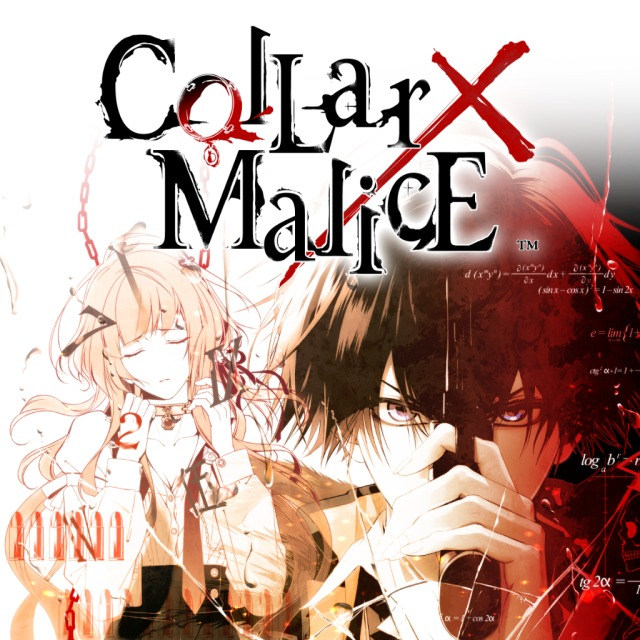 Front boxart of the game Collar x Malice (Australia) on Sony PS Vita