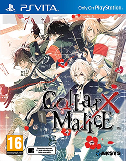 Front boxart of the game Collar x Malice (Europe) on Sony PS Vita