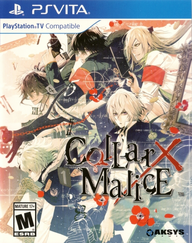 Front boxart of the game Collar x Malice (United States) on Sony PS Vita