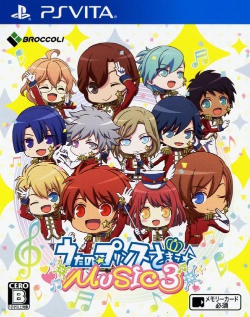 Front boxart of the game Uta no * Prince-Sama - Music 3 (Japan) on Sony PS Vita