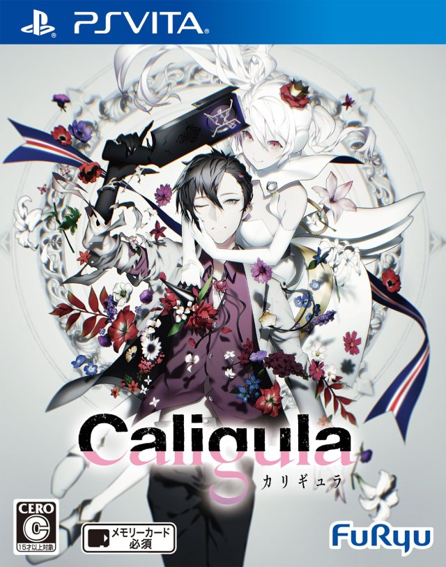 Front boxart of the game Caligula (Japan) on Sony PS Vita