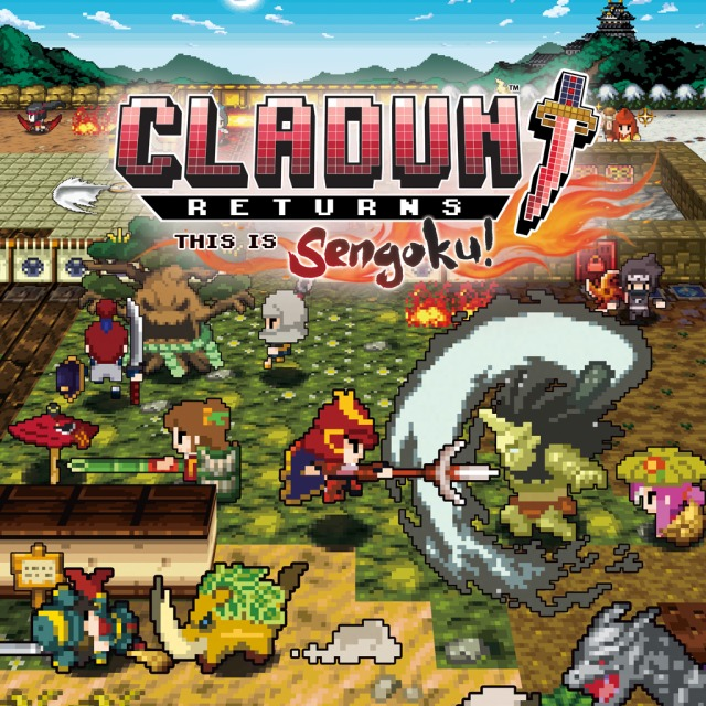 Front boxart of the game Classic Dungeon Sengoku (Europe) on Sony PS Vita