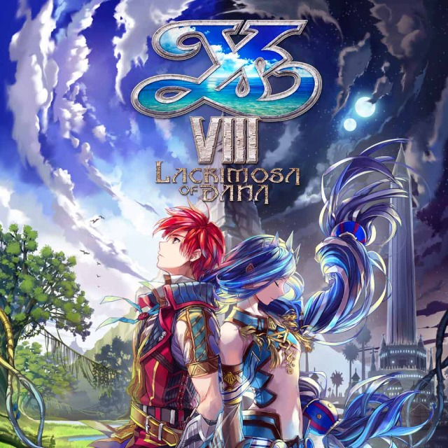 Front boxart of the game Ys VIII - Lacrimosa of DANA (Australia) on Sony PS Vita