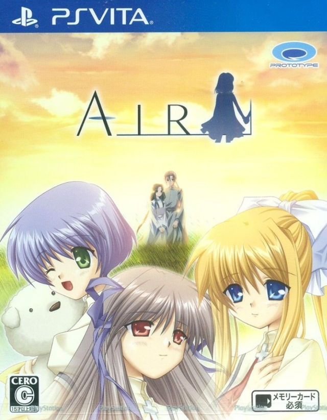 Front boxart of the game Air (Japan) on Sony PS Vita