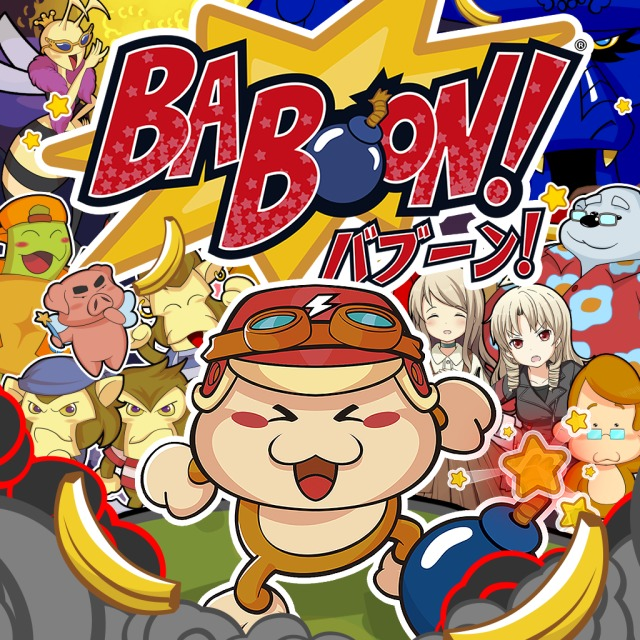 Front boxart of the game Baboon! (Europe) on Sony PS Vita
