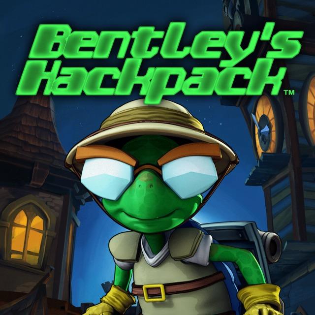 Front boxart of the game Bentley's Hackpack (Australia) on Sony PS Vita