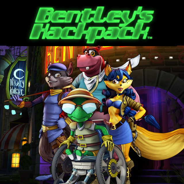 Front boxart of the game Bentley's Hackpack (United States) on Sony PS Vita