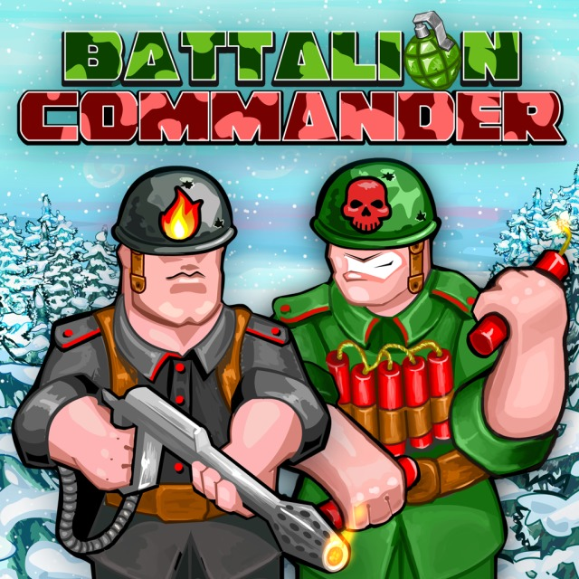 Front boxart of the game Battalion Commander (Europe) on Sony PS Vita