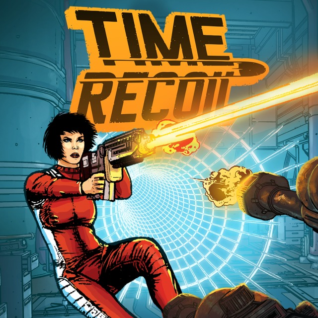 Front boxart of the game Time Recoil (United States) on Sony PS Vita