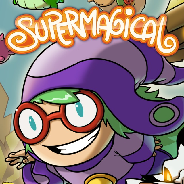 Front boxart of the game Supermagical (Europe) on Sony PS Vita