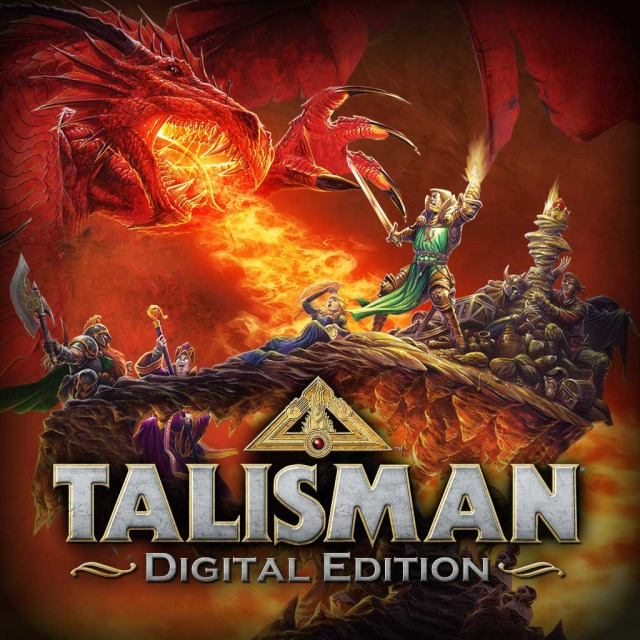 Front boxart of the game Talisman - Digital Edition (United States) on Sony PS Vita