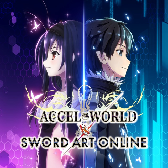 Front boxart of the game Accel World vs. Sword Art Online - Millennium Twilight (Europe) on Sony PS Vita