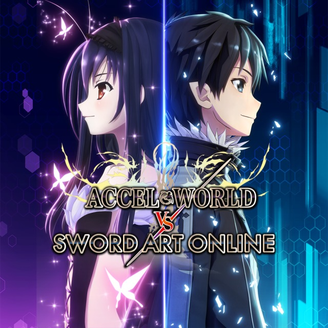 Front boxart of the game Accel World vs. Sword Art Online - Millennium Twilight (United States) on Sony PS Vita