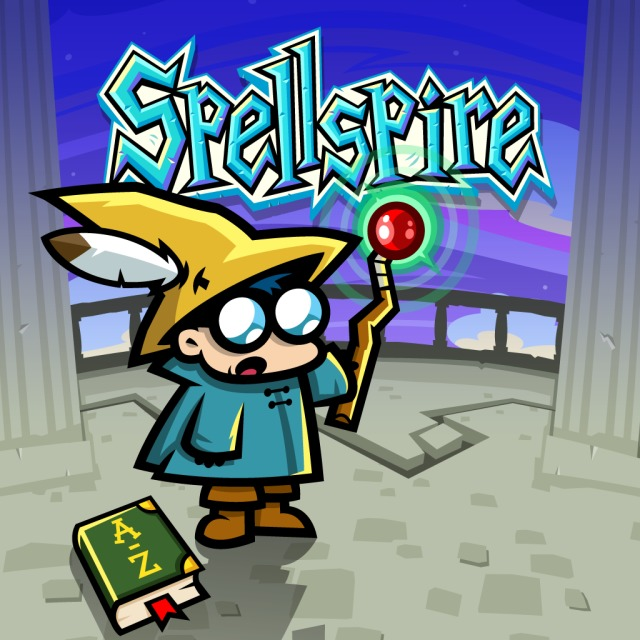 Front boxart of the game Spellspire (United States) on Sony PS Vita